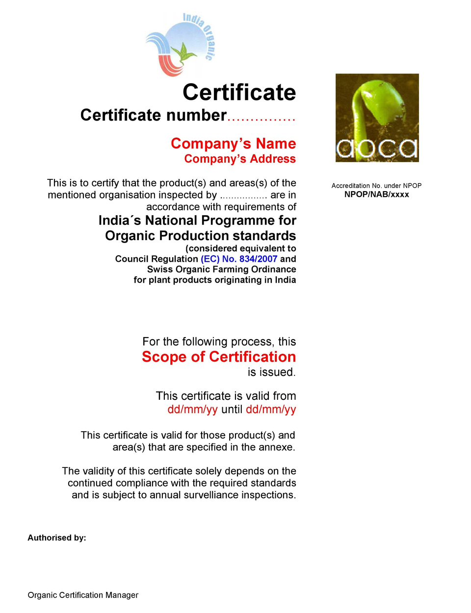 Home - APOF Organic Certification Agency